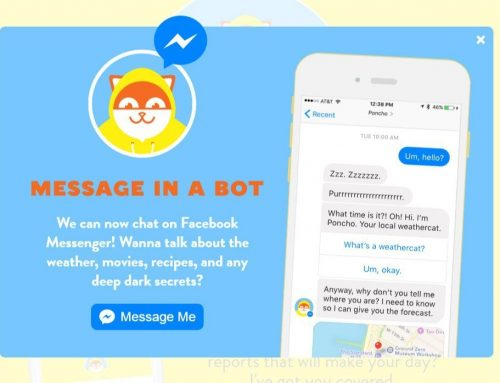 Say hi to the chatbots. You'll be seeing a lot more of them